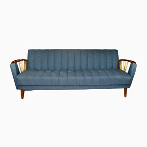 Mid-Century German Convertible Sofa, 1960s