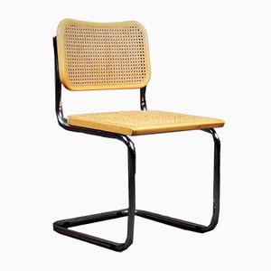 Italian Modern Plywood B32 Dining Chair by Marcel Breuer, 1970s
