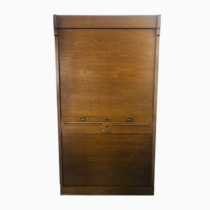Vintage German Elm Filing Cabinet from Febrü, 1930s