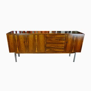 Mid-Century German Plywood & Metal Sideboard, 1960s