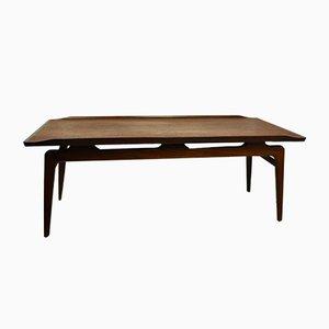 Tavolino da caffè in teak di Louis van Teeffelen, anni '60