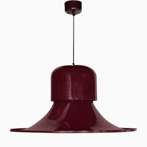 Plafonnier Hat en Métal par Joe Colombo pour Stilnovo, Italie, 1970s