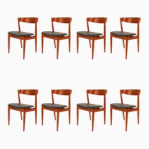 Danish Teak Dining Chairs by H. W. Klein for Bramin, 1960s, Set of 8