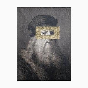 Leonardo Occhio Print on Board by Marco Segantin for VGnewtrend