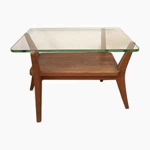 Vintage Coffee Table by Karel Kozelka & Antonin Kropacek for UP Závody, 1950s