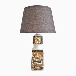 Dänische Baca Tischlampe aus Porzellan von Nils Thorsson für Royal Copenhagen, 1960er