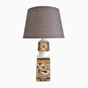 Lampada da tavolo Baca in porcellana di Nils Thorsson per Royal Copenhagen, Danimarca, anni '60