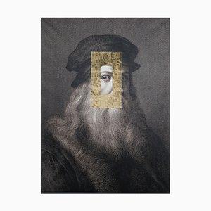 Affiche sur Panneau Leonardo Viso par Marco Segantin pour VGnewtrend