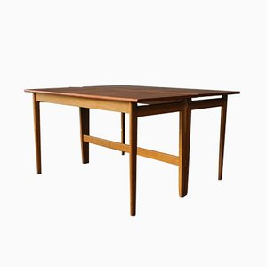 Swedish Teak & Oak Dining Table