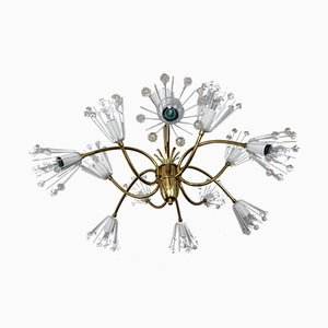Viennese 12-flame Chandelier by Emil Stejnar for Rupert Nikoll, 1950s