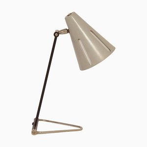 Sun Series Model 1 Desk Lamp by H. Busquet for Hala, 1950s.