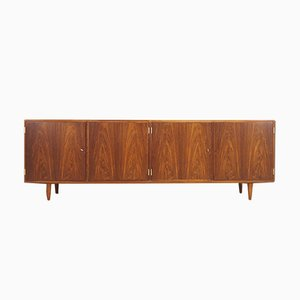Danish Rosewood and Veneer Sideboard by Poul Hundevad, 1980s