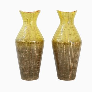 Mid-Century Italian V540/32 Ceramic Vases, 1950s, Set of 2