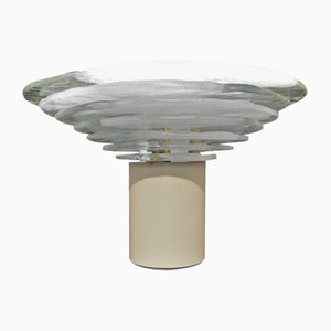 Grande Lampe de Bureau Vintage en Verre par Carlo Nason pour Mazzega, Italie