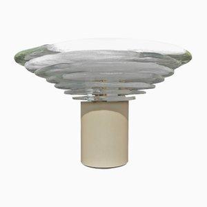 Lampada da tavolo grande vintage in vetro di Carlo Nason per Mazzega, Italia