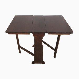Tavolo pieghevole in legno di conifera