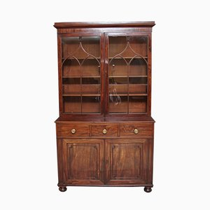 19th-Century Mahogany Bookcase