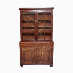 19th-Century Mahogany Bookcase