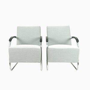 Bauhaus Cantilever Chairs by Mart Stam & Marcel Breuer for Mücke Melder, 1930s, Set of 2