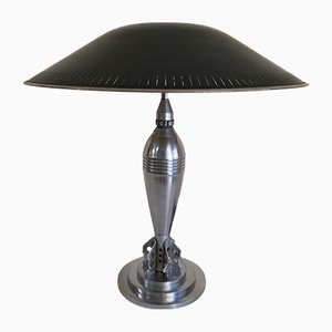 Vintage Art Deco Grenade Table Lamp