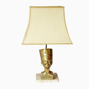 Hollywood Regency Nefertiti Table Lamp from Massive, 1970s