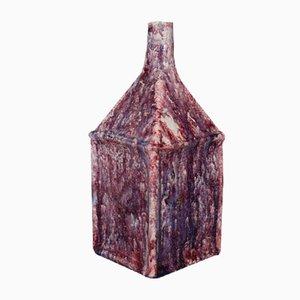 Vaso in ceramica viola di Marcello Fantoni, Italia, anni '60