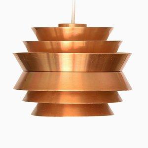 Lampe à Suspension Trava en Aluminium par Carl Thore pour Granhaga Metallindustri, Suède, 1970s