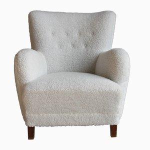 Dänischer Mid-Century Sessel, 1940er