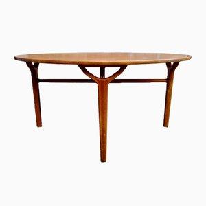 Tavolino da caffè vintage di Peter Hvidt & Orla Mølgaard-Nielsen per Fritz Hansen