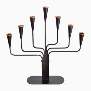 Swedish Candleholder by Gunnar Ander for Ystad-Metall, 1960s