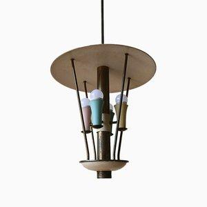 Italian Ceiling Lamp, 1950s