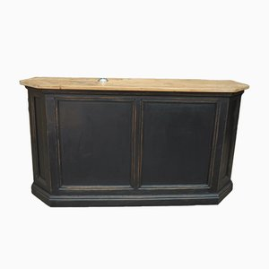 Antique Pine Bar Counter, 1900s