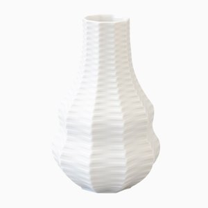 Mid-Century Biscuit Porcelain Calabash Vase by Heinrich Fuchs for Hutschenreuther