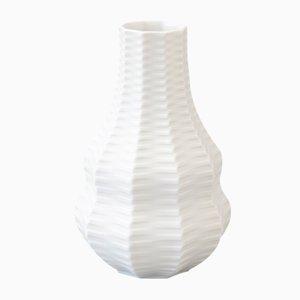 Vase Calebasse Mid-Century en Porcelaine Biscuit par Heinrich Fuchs pour Hutschenreuther