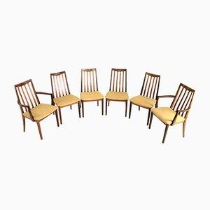 Esszimmerstühle aus Teak von Victor Wilkins für G-Plan, 1970er, 6er Set