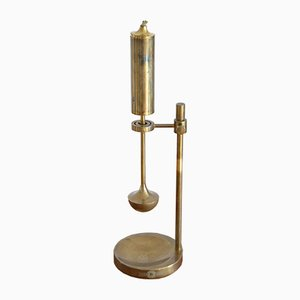 Mid-Century Brass Oil Lamp by Ilse D. Ammonsen for Daproma