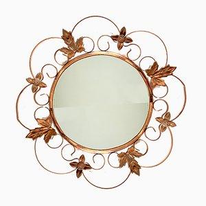 Vintage Floral Mirror