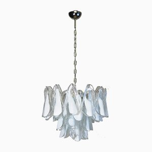 Vintage Italian Murano Glass Rondini Chandelier from Mazzega, 1984