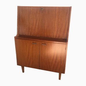 Secretaire vintage in legno, anni '60