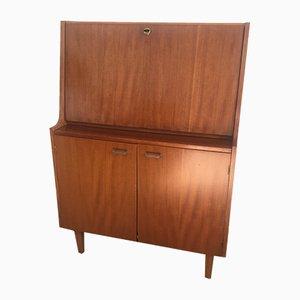 Vintage Sekretär aus Holz, 1960er