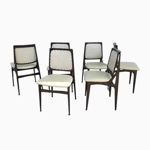 Chaises de Salle à Manger par Osvaldo Borsani pour Dassi, 1950s, Set de 6