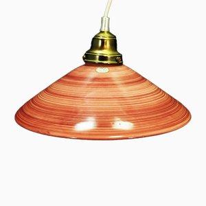Vintage Danish Pendant Lamp from Søholm, 1970s