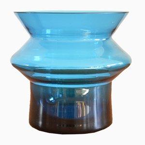 Skandinavische Vintage Hyrrä Vase von Helena Tynell für Riihimaen Lasi Oy