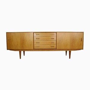 Dänisches Sideboard aus Eichenholz von Clausen & Søn, 1960er