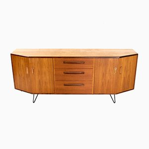 Vintage Teak Sideboard with Hairpin Legs by Victor Wilkins for G-Plan, 1970s