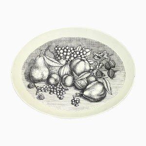 Plateau Vintage avec Motif de Fruit par Atelier Fornasetti, 1970s