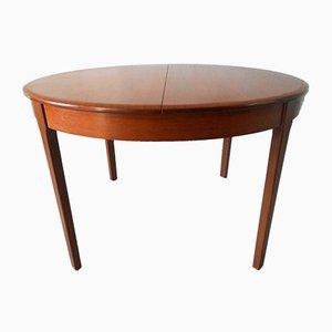 Ausziehbarer Esstisch aus Teak, 1960er