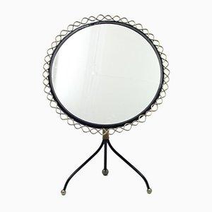 Specchio da tavolo di Hans-Agne Jakobsson per Markaryd, anni '50