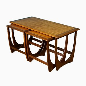 Vintage Nesting Coffee Tables by Victor Wilkins for G-Plan