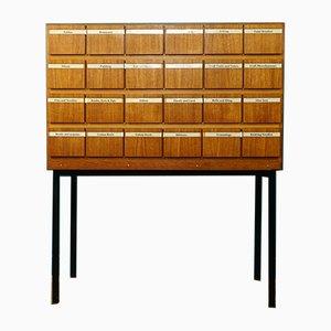 Teak Haberdashery Cabinet, 1960s